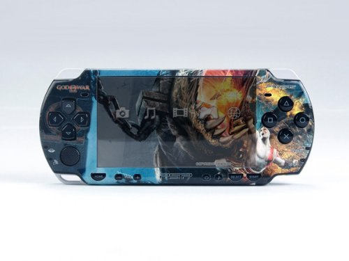 Pacers God War Psp Slim Dual Colored Skin Sticker Psp 2000