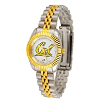 "California Golden Bears NCAA ""Executive"" Ladies Watch (2-Tone Stainless Steel Band)"