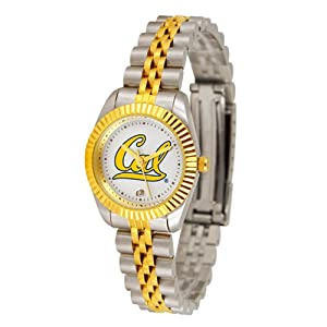 California Golden Bears NCAA Executive Ladies Watch (2-Tone Stainless Steel Band) by SunTime