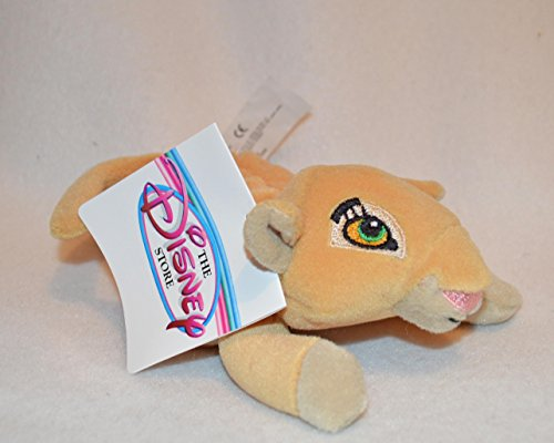 "Disney Nala Mini Bean Bag Plush Toy New with Tag 8"" - 1"