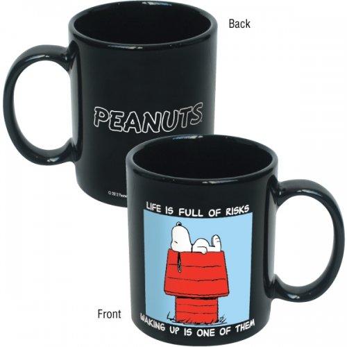 Peanuts - Merchandise - Ceramic Coffee Mug (Snoopy & Woodstock Chilling)