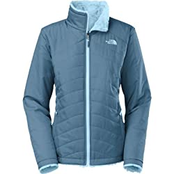 The North Face Womens Mossbud Swirl Reversible Jacket - Cool Blue/Tofino Blue