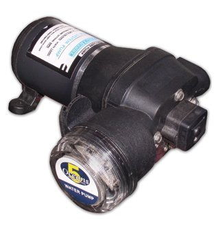 Automatic Water Pressure Pump W/filter 2.6 Gpm Marine. Five Oceans