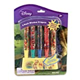 Winnie the Pooh 5pk Window Crayons with Holder