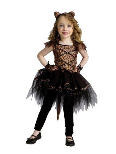 [Wmu - Ballerina Leopard Toddler Girl Costume 3T-4T] (Ballerina Costumes For Toddler)