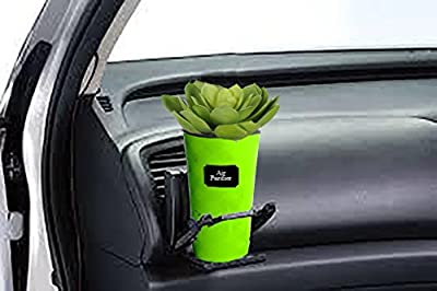 Handmade Air Purifier for Car Air Purify Indoor Self-watering Planter Succulent Herb Seeds Planter Minimalistic Modern Design