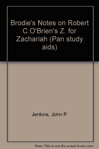 z for zachariah study guide answers