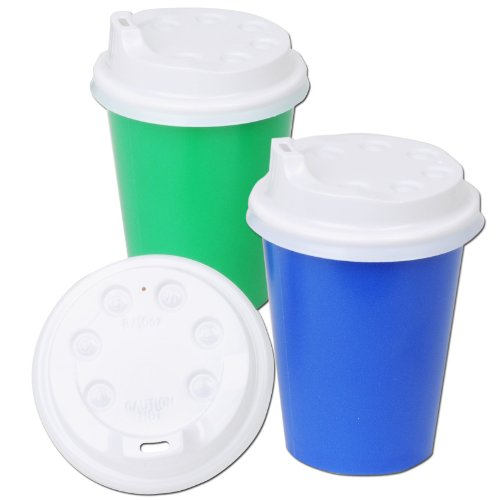 Plastic Lids For 9 Oz. Cups (8 Count) Child