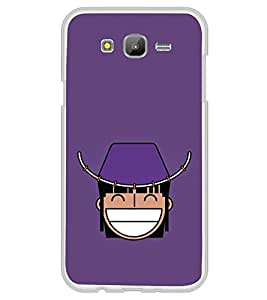 Funny Cartoon 2D Hard Polycarbonate Designer Back Case Cover for Samsung Galaxy On5 (2015) :: Samsung On 5