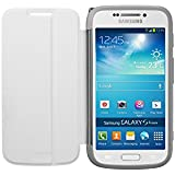 Samsung Protective Folio Flip Case Cover with Matching Lens Cap for Samsung Galaxy S4 Zoom - White