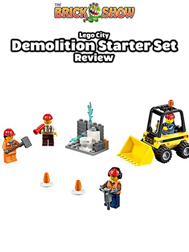 LEGO City Demolition Starter Set Review (60072)