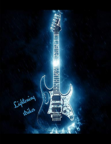 Lightening Strikes Guitar Tabs Book with 100 pages and a glossy cover [Genovesi, Mikail] (Tapa Blanda)