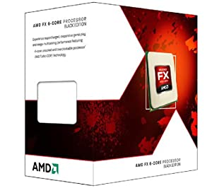 AMD FD6350FRHKBOX FX-6350 FX-Series 6-Core Black Edition