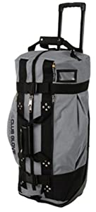 Club Glove Rolling Duffle 2 Charcoal by Club Glove