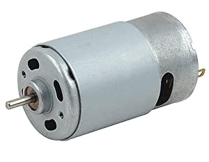 RS-550s 18v (6v - 24v) DC Motor - High Power & Torque for DIY Projects, Drills, Robots, RC Vehicals, & More by Liang Ye