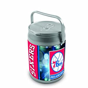 NBA Philadelphia 76ers Insulated Can Cooler by Picnic Time