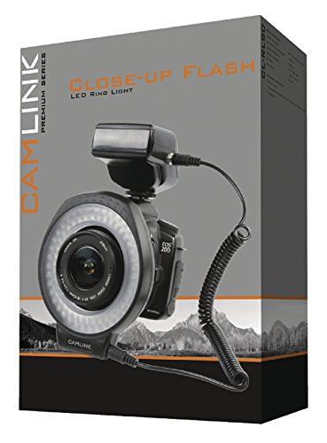 Camlink Close Up Flash LED Ring Light for Camera