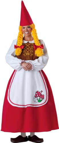 Mrs Garden Gnome Adult Costume