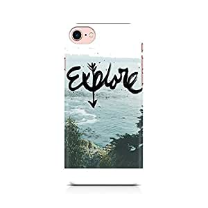 NXT GEN Explore Premium Printed Mobile Back Case Cover For Apple iPhone 7