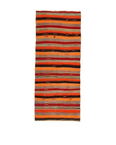 Design Community By Loomier Alfombra Kilim Caucasico Multicolor 144 x 349 cm