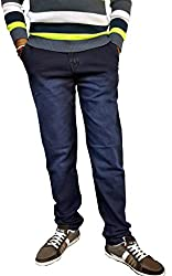 KCOY Men's Comfort Fit denim
