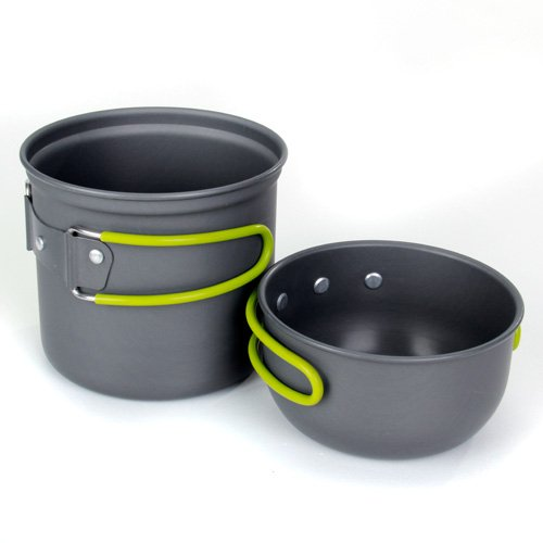 TOOGOO(R) Camping Hiking Foldable Cookware Set