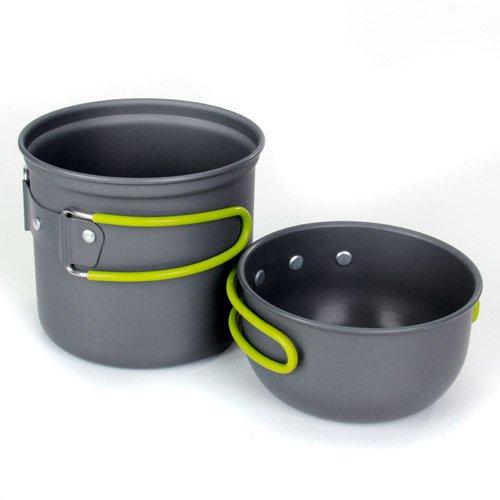 TOOGOO(R) Camping Hiking Foldable Cookware Set