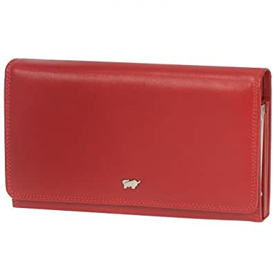 Braun Büffel Golf Geldbörse Leder 18 cm rot