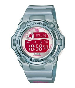 Casio Baby G Ladies Quartz Blue Watch #BG-3000X-2DR