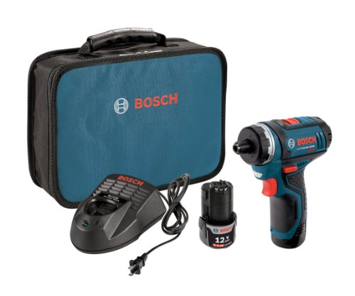 Bosch PS21-2A 12-Volt Max Lithium-Ion 2-Speed Pocket Driver Kit with 2 Batteries, Charger and Case (Bosch Ixo compare prices)