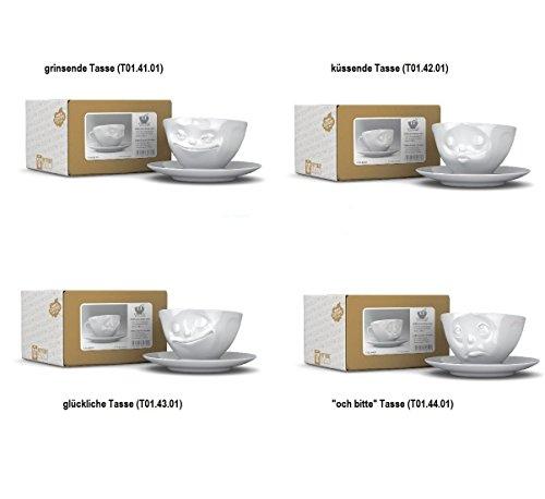 Fiftyeight Set de 4tasses à café humoristiques