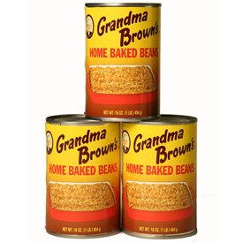 Grandma Brown's Home Baked Beans 16oz - 12 Unit Pack $18.99