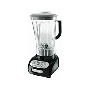 KitchenAid KSB560OB 5-Speed 56-Ounce Blender, Onyx Black