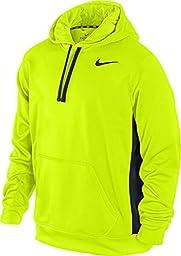 Nike Mens KO Hoodie 2.0 - Large - Volt/Black