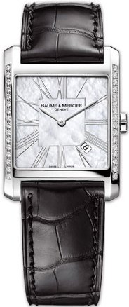 Baume & Mercier Hampton Square Ladies Watch 8743-BLKCD