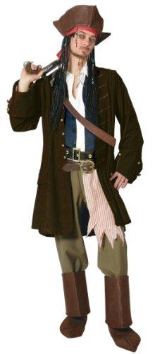 ディズニー デラックスアダルト ジャック・スパロウ コスチューム DX Adult Jack Sparrow Costume 802542