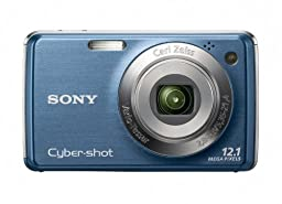 Sony Cyber-shot DSC-W230 12 MP Digital Camera with 4x Optical Zoom and Super Steady Shot Image Stabilization (Dark Blue)