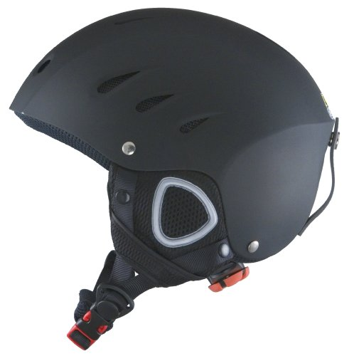 Lucky Bums Snow Sport Helmet, Matte Black, Small