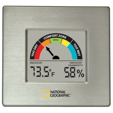 Thermor National Geographic Indoor Hygrometer with Comfort Scale from Thermor