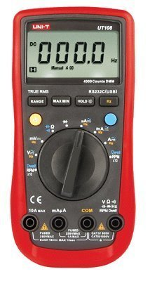Signswise UNI-T UT108 Digital Automotive Multimeter AC/DC Volt Amp Ohm Hz Temp Tach Dwell by Uni-T (Dwell Appliance compare prices)