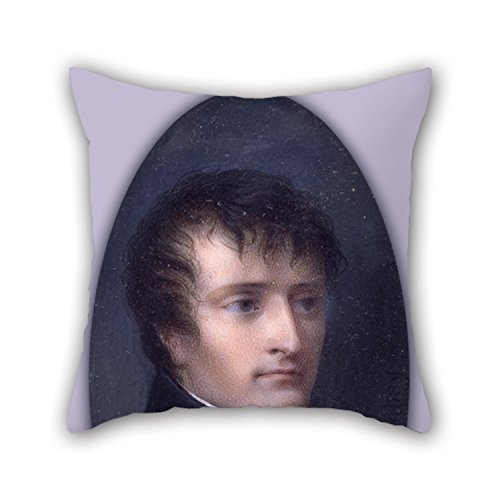 Uloveme Oil Painting Jean Baptiste Isabey - Napoleon Bonaparte Throw Cushion Covers ,best For Family,home,birthday,drawing Room,bar,couples 20 X 20 Inches / 50 By 50 Cm(two Sides)