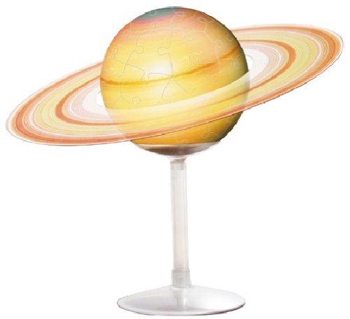 60ピース ジグソーパズル 3D球体パズル 土星儀 -THE SATURN-...