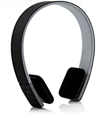 buy Nasis Wireless Stereo Sports/Running & Gym/Exercise Bluetooth Earbuds Headphones Headsets Hands-Free Calling Ah6049 (Black)