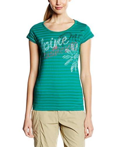 Alpine Pro T-Shirt DIONE 2 grün/blau