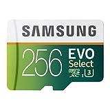 Samsung EVO Select Micro SDXC Memory Card, 256GB, 95MB/s