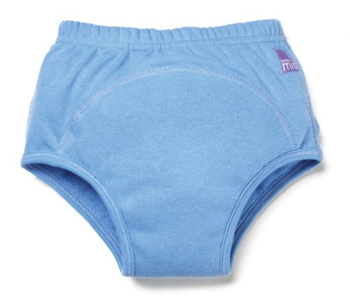 Bambino Mio Cloth Training Pants - Blue - Large front-711569