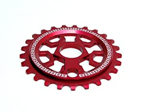 Eastern Bikes CNC 25T Shogun Sprocket (Matte Red, 19mm)