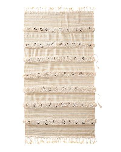 Vintage Berber Wedding Rug, Crème, 3' 9 x 6' 7
