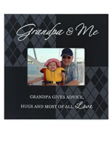 Malden Grandpa and Me Storyboard Wood Frame, 4 by 6-Inch