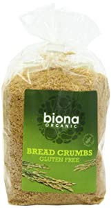 Biona Organic Gluten Free Breadcrumbs 500 g (Pack of 3)